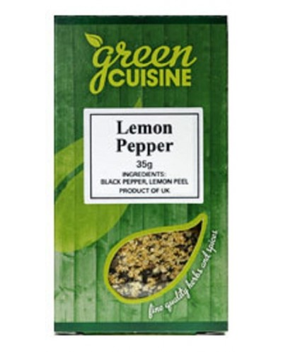 LEMON PEPPER GREEN CUISINE 35G