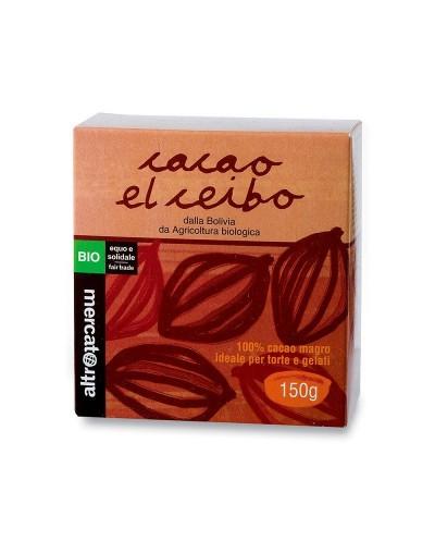 CACAO 100% MAGRO EL CEIBO...