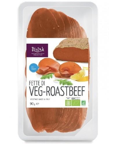 VEG - ROAST BEEF 90G BIOLAB