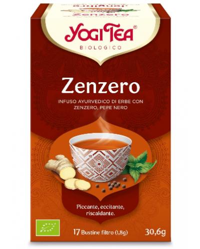 YOGI TEA ZENZERO 17 FILTRI