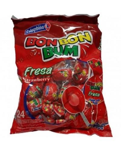 BON BON BUM FRAGOLA 408G