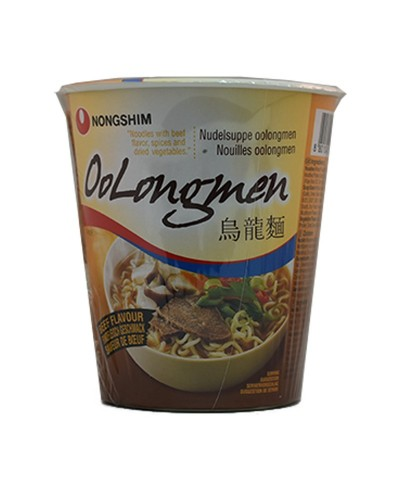NONGSHIM OOLONGM CUP BEEF 75G