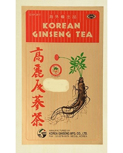 GINSENG TEA BAG 30'S KORYO 60G