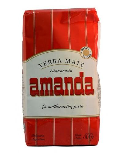 YERBA MATE AMANDA 500G