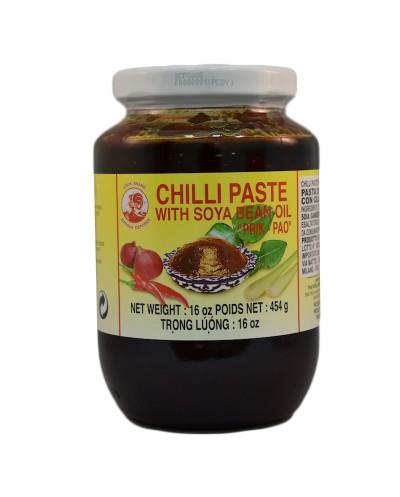 CHILI PASTE PRIK PAO COCK 454G